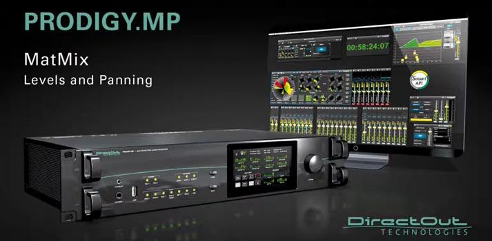 Producto Prodigy MP creado por DirectOut Technologies