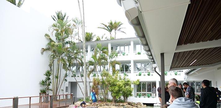 Integración de equipos Bose Profesional en Daydream Island Resort