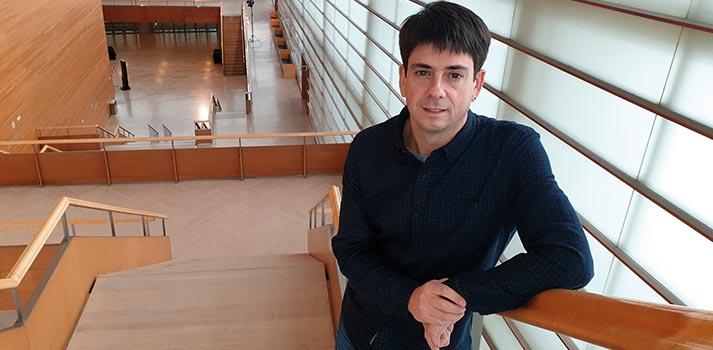 Osoitz Garbizu, responsable de tecnologías del auditorio Kursaal de San Sebastián / Kursaal