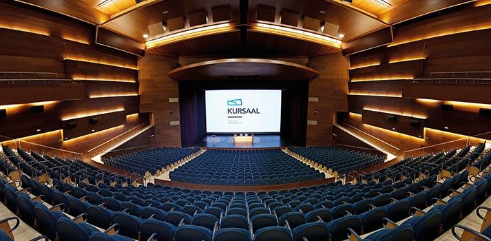 Patio de butacas del Auditorio y Teatro Kursaal de Donostia / San Sebastián