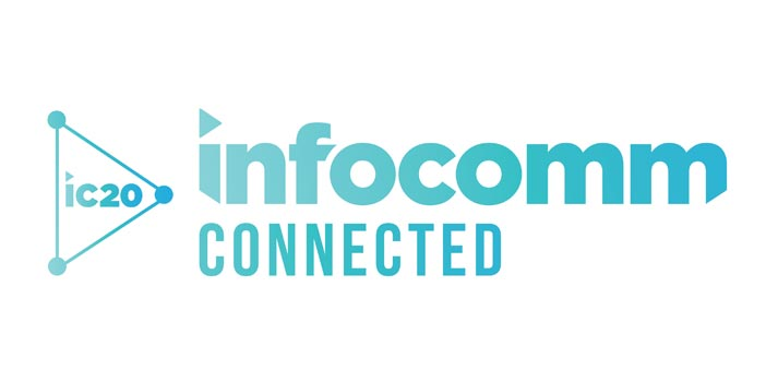 Logotipo de InfoComm 2020 Connected