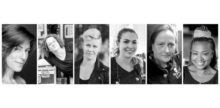 Participantes de la mesa redonda Women In Sound de Sennheiser