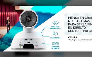 Camara-PTZ-Panasonic-AW-UE4