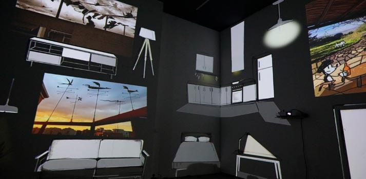 """Exposición de videomapping """"Desde mi ventana"""" del Espacio Cultural Centre del Carmen"""