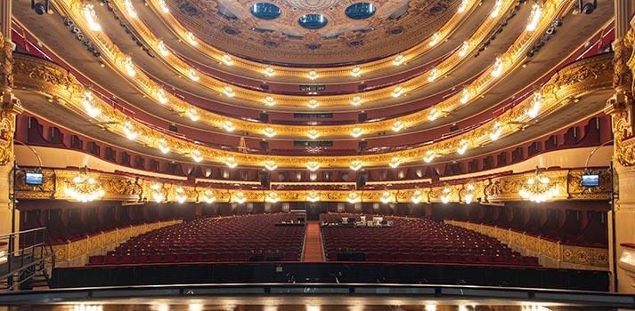 Patio de butacas del Gran Teatre del Liceu de Barcelona