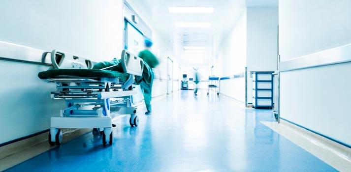 Imagen recurso en un entorno de hospitales