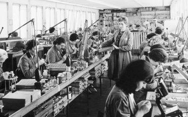 Laboratorio-fabricacion-Sennheiser-anos-40-50