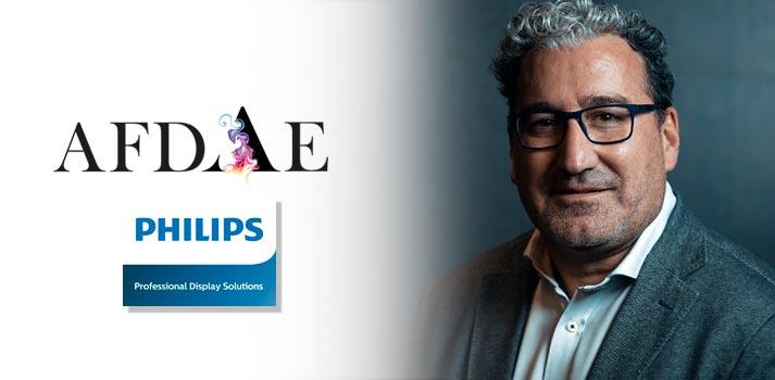 Presentación de Philips Professional Display Solutions como miembro de AFDAE