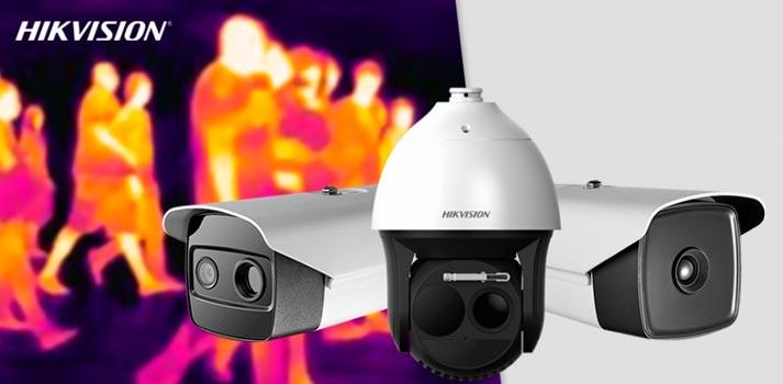 Productos de medición de temperatura Hikvision