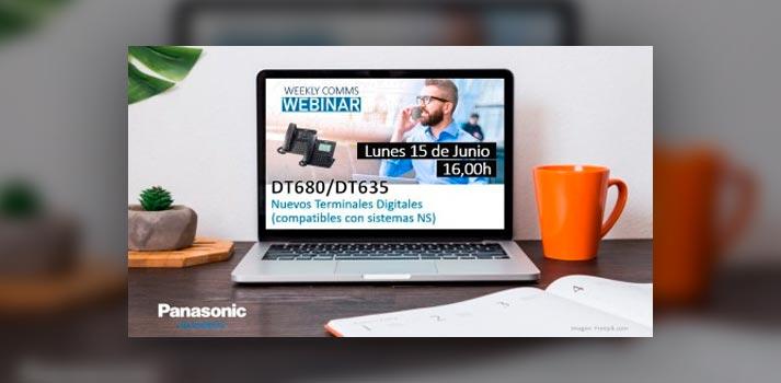 Imagen presentación seminario web Panasonic DT680 / DT635