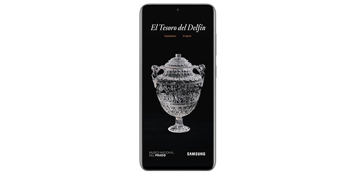 Aplicación Tesoro del Delfín, desarrollada por Samsung y el Museo del Prado de Madrid