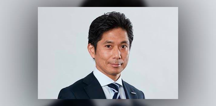 Retrato de Hiroyuki Nishiuma, Managing Director de la División Europa B2B de Panasonic