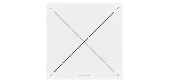 Dispositivo de techo TeamConnect Ceiling 2 de Sennheiser
