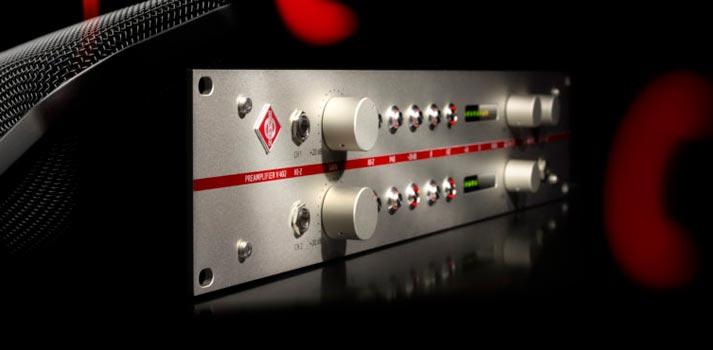 Pre amplificador V 402 de Neumann