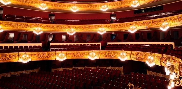 Patio de butacas del Gran Teatre del Liceu