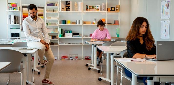 Aula Smart, una solución diseñada por los alumnos de ESTE en colaboración con agentes de la industria