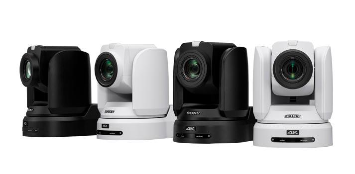 Familia de cámaras PTZ BRC de Sony