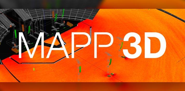 Logotipo de MAPP3D, aplicación de Meyer Sound