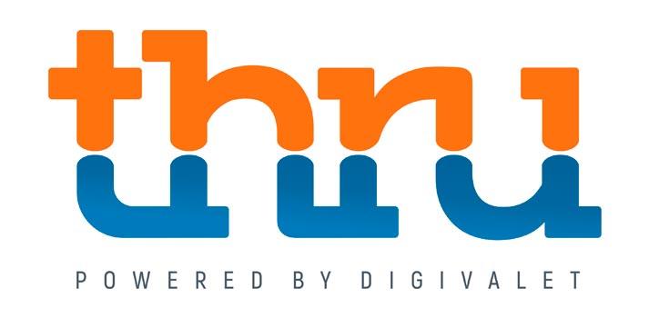 Logotipo de Thru, un producto de Digivalet