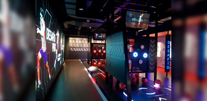 Exhibición Territorio Atleti del Museo del Atlético de Madrid desarrollada por Mediapro Exhibitions