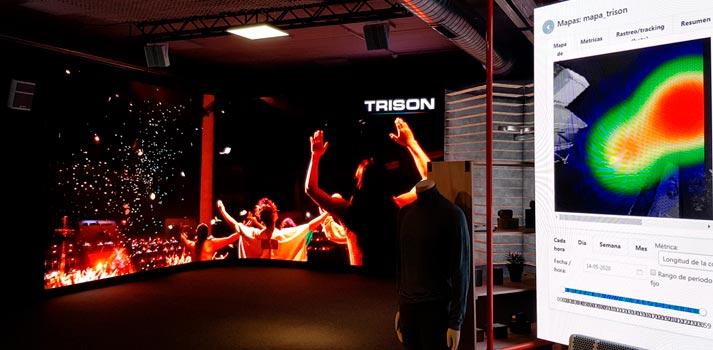 Showroom con las tecnologías y soluciones audiovisuales de Trison en A Coruña