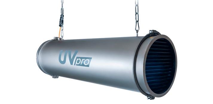 Solución ultravioleta UVPro de EXACT Solutions distribuida por Lang Iberia