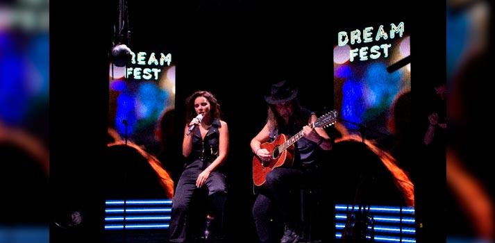 Concierto de realidad virtual 360 de Chenoa, parte del ciclo Dream Fest