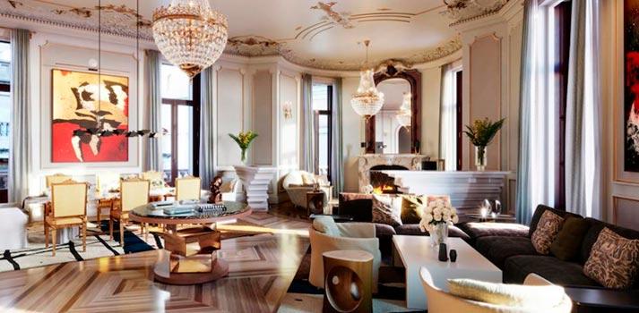 Suite del hotel Four Seasons de Madrid