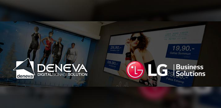 Logotipos de Deneva y LG