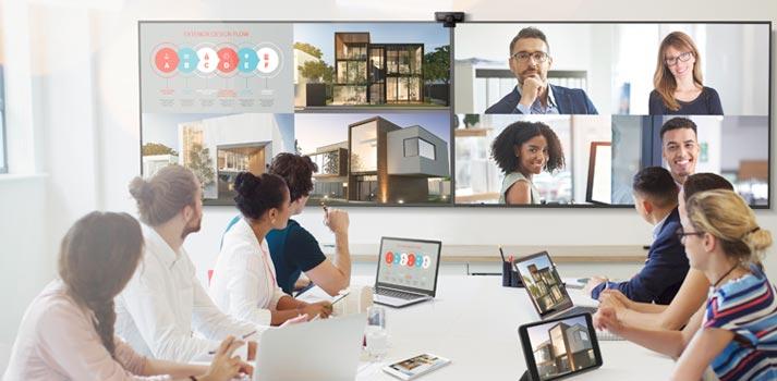 Pantallas 4K, entorno colaborativo Viewsonic CDE 2020