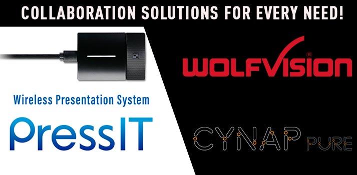 Nuevas soluciones de colaboración inalámbrica propuestas por Panasonic