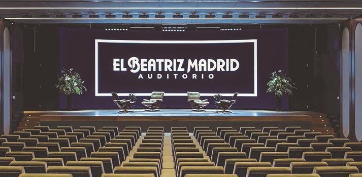 Patio de butacas del Auditorio de El Beatriz (Madrid)