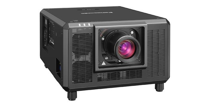 Imagen frontal del nuevo proyector láser RQ35K de Panasonic