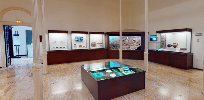 Integración de elementos tridimensionales en el Museo de Canarias