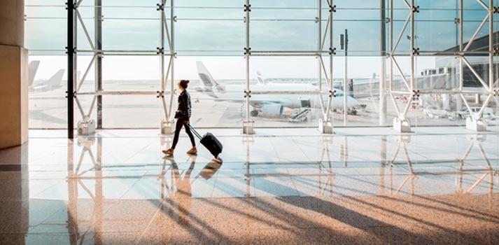 Imagen stock Aeropuerto