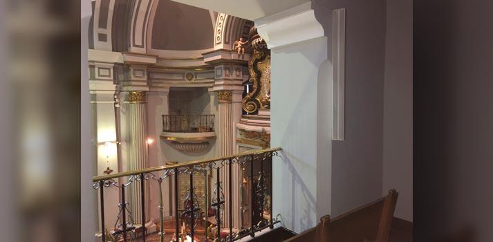 Altavoces VXL1-24 de Yamaha implementados en la Real Basílica Nuestra Señora de Atocha de Madrid