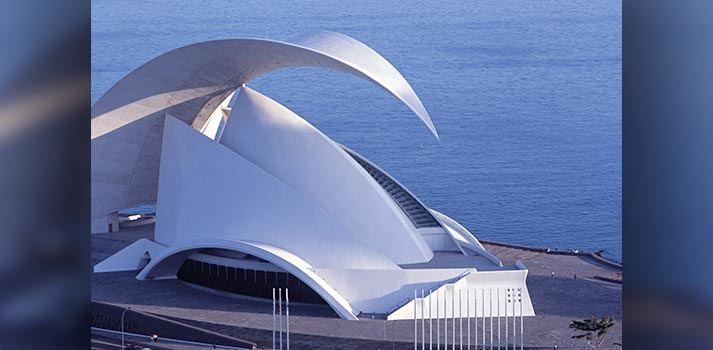 Exterior del Auditorio de Tenerife