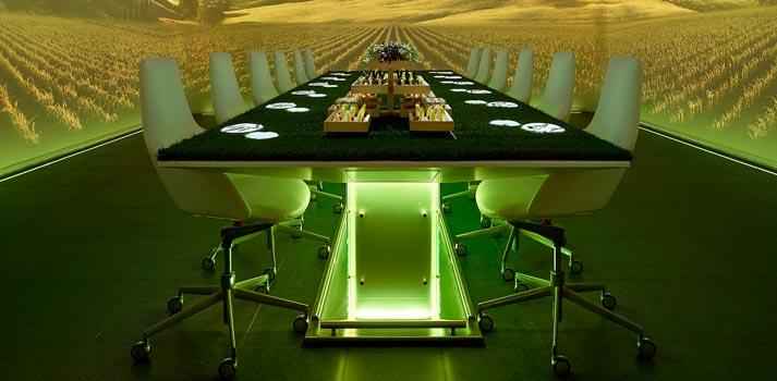 Restaurante Sublimotion Riad, una integración de ProyectArte