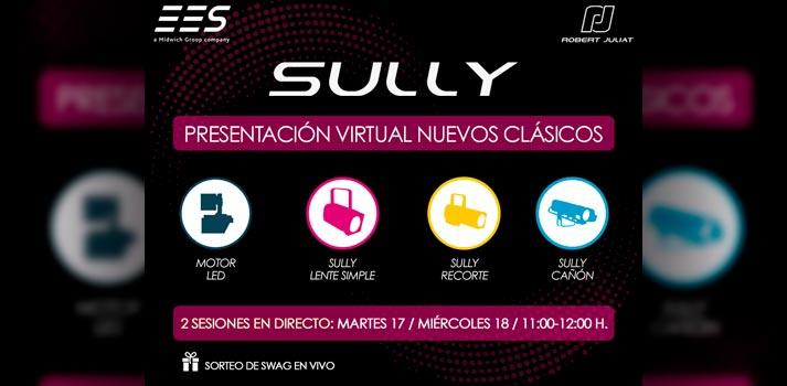 Presentación de productos de la familia Sully de Robert Juliat por parte de EES: anuncio
