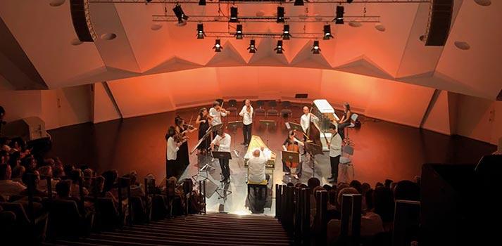 Sala de cámara del Auditorio de Tenerife