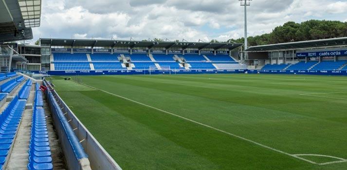 Estadio El Alcaraz de la SD Huesca