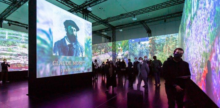 Exposición impresionistas - Pabellón de Navegación de Sevilla