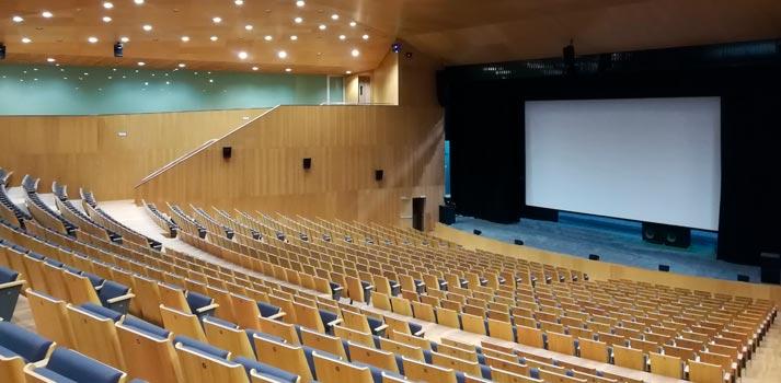 Patio de butacas del Auditorio de Lugo (Galicia)