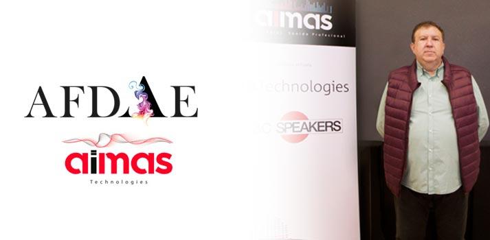 Juan Miguel Martínez, Spain Sales Manager de dB Technologies (Aimas) - Presentación AFDAE