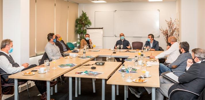 Asistentes a la reunión de AFDAE que tuvo lugar en DIciembre de 2020