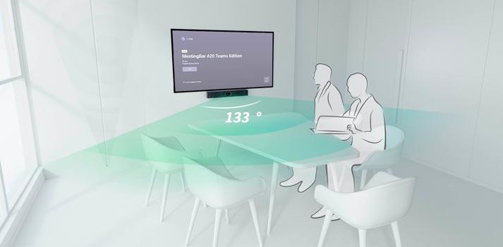 Barra de sonido y vídeo Yealink A20 para el mundo corporativo