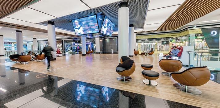 Interior del Centro Comercial de A Coruña - Marineda City