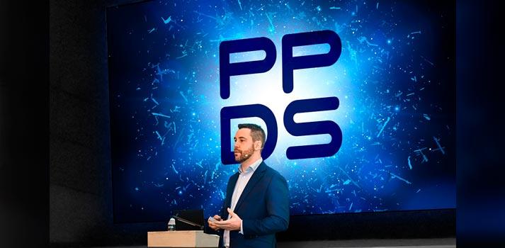 Franck Racape durante el evento de presentación de PPDS