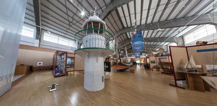 Interior del museo del Puerto de Tarragona - 2020