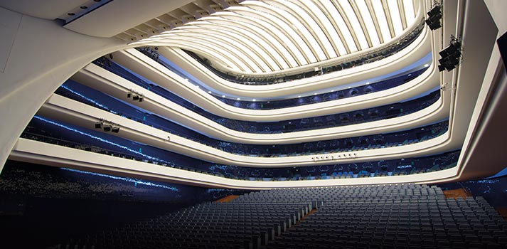 Especial Teatros y Auditorios - Platea del Palau de les Arts